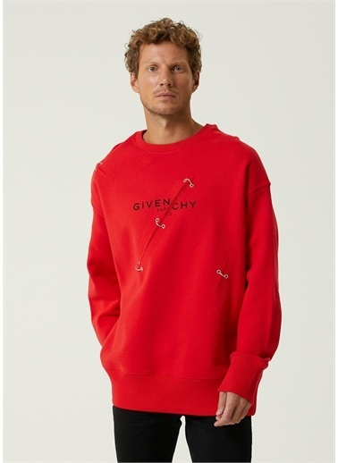 Givenchy Sweatshirt Kırmızı